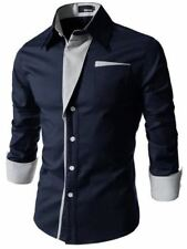 Men New Arrival Long Sleeve Casual Wear Shirt Slim Fit Cotton Fabric Shirt