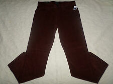 GAP CORDUROYS STRAIGHT FIT PANTS MENS SIZE 33X32 ZIP FLY WINE COLOR NEW NWT