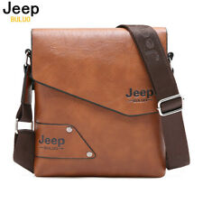 Men Leather Business Case Bag Shoulder Messenger Handbag Briefcase Travel Bags