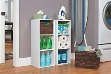 Closet Maid 3 Shelf Organizer Cleaning Household Espresso Dark Cherry White Kids