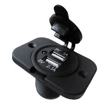 Auto Car Boat Truck Charger Power Socket Outlet Dual USB Port Plug Panel Goodish