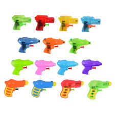 Mini Water Gun Colorfull Baby Bath Toys Kids Garden Party Little Transparant