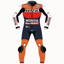HONDA 2018 MARQUEZ Motorbike Leather Suit Motorcycle Leather Suit Racing suit