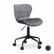 Office Desk Chair, Ergonomic Swivel Executive Chair with Wheels, Comfortable