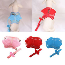 Nylon Breathable Soft Dog Harness Set Puppy Leash Dog Lead Rope Chest Strap