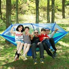 Hammock with Mosquito Net Outdoor Travel Jungle Camping Tent Hammock Swing Bed