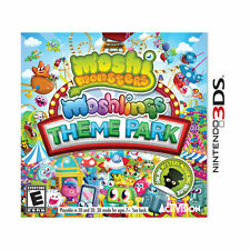Moshi Monsters: Moshlings Theme Park Nintendo 3DS NEW factory sealed