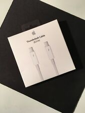 GENUINE APPLE THUNDERBOLT CABLE! 0.5M WHITE IN ORIGINAL PACKAGING LOOK! NO RSRV!