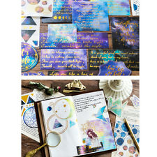 60 Pcs Washi Stickers Labels Journal Diary Photo Album Hand Account Stickers