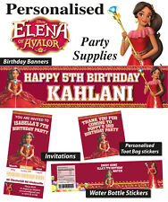 Personalised Princess Elena of Avalor Birthday Party Banner Decorations