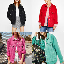 Jeans Coat Retro Oversize Cowboy Woman Denim Loose Casual Jacket Coat News