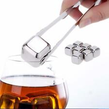 Whisky Ice Cubes Rocks Stainless Steel Ice Coolers Buckets Bar Tools Accessories