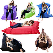 Portable BIG Beanbag Cushion Pillow Indoor Outdoor Relax Gamer Soft Bean Bag
