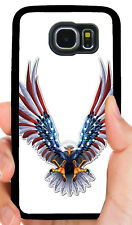 AMERICAN EAGLE USA PHONE CASE COVER FOR SAMSUNG NOTE GALAXY S4 S5 S6 S7 S8 S9