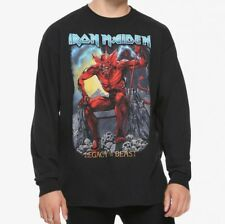 Iron Maiden Legacy Of The Beast Game Black Long Sleeve T-Shirt NEW Licensed Tee