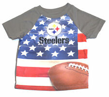 Pittsburgh Steelers Toddler USA Flag T-Shirt