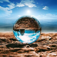 Glass Clear 60mm/80mm Photography Lens Crystal Ball Photo Prop Background Sphere