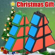 Magic Cube 1X2X3 Christmas Tree Cube Puzzle Ultra-Smooth Magic Puzzle Xmas Gifts