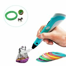 3D Printing Pen Crafting Doodle Drawing Arts Printer Modeling PLA 10M Tool Kit