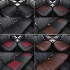 PU Leather Universal Car Seat Cover Pad Mat Breathable 3D for Auto Chair Cushion
