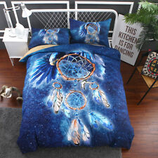 Blue eagle Pattern Duvet Cover Set Quilt Cover Twin Full Queen King Pillow case