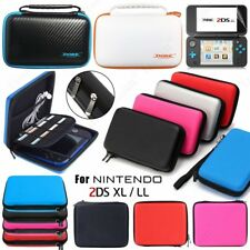 For Nintendo Switch 2DS 3DS XL LL Carrying Case Bag/Screen Protector/Clear Cover