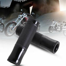 "Practical 7/8"" Motorcycle CNC Bike Aluminum Handlebar Hand Grips Gel Cover RD"