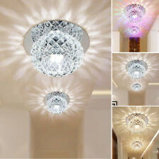 Modern Crystal Style Colorful LED Ceiling Light Lamp Home Porch Lighting 3W / 5W
