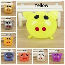 1/8Pcs Jello Pig Cute Anti Stress Splat Water Pig Ball Vent Toy Venting Sticky