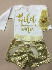 Baby First Birthday Outfit Girl