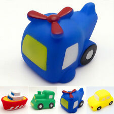 Soft Bath Toy Toy Vehicles Car Bathtime Pool Spraying Play Plane Boat Train New