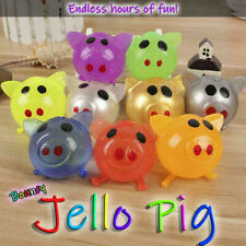 1Pc Jello Pig Cute Anti Stress Splat Water Pig Ball Vent Toy Venting Sticky