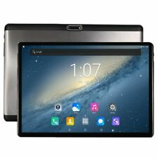2.5D Tempered Glass Tablet 10 DECA Core Android 4G LTE ROM 4GB RAM SIM GPS WIFI