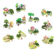 3D Paper House Puzzles Handmade Doullhouse Crafts for Kids Educational Toys