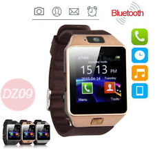 LATEST Smart Watch Camera Bluetooth For HTC Samsung Android Phone DZ09 SIM Slot