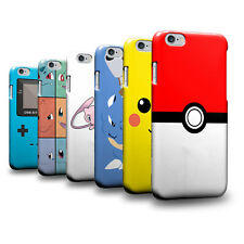 PIN-1 Game Pokemon A Hard Phone Case Cover Skin for Apple iPhone iPod