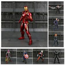 Iron Man Captain America Ant-Man Marvel Action Figure Collectible Model Toys