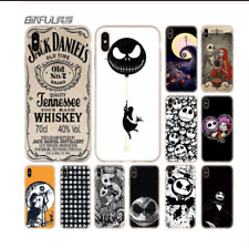 jack skellington Case Silicone soft Cover for iPhone X XS Max XR 6 6S 7 8 Plus