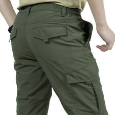 Tactical Work Cargo Pants Men Combat Quick Dry Military Cargo Hiking Outdoor