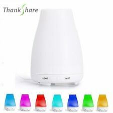 Essential Oil Diffuser Humidifier 100ml Air Aromatherapy 7LED Ultrasonic Aroma