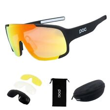 POC 3 Lens Mountain Bike Goggles Cycling Eyewear Bicycle Cycling Glasses Unisex