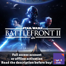 Star Wars Battlefront II 2 - Deluxe Edition / Full Access Origin account