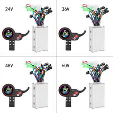 24-60V Brushless Roller Controller For Electric Bike Scooter  LCD Display Panel