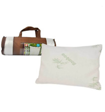 Luxury Bamboo Memory Foam Pillow Natural Fibers Breathable Removable 65x45x12cm