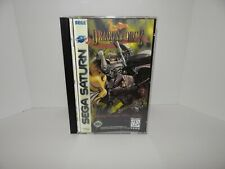 Dragon Force Sega Saturn - Replacement manual, insert and case