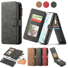 Magnetic Flip Leather Case Wallet Cover For Samsung Galaxy Note 10 Plus S10 S9