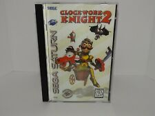 Clockwork Knight 2 Sega Saturn - Replacement manual, insert and case