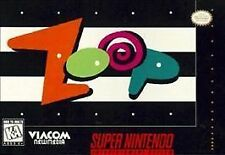 Zoop (Super Nintendo, 1995) GAME ONLY