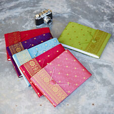 Fair Trade Handmade Medium Sari Photo Albums, Eco Friendly Recycled Paper