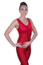 Catsuit Sleeveless Gathered Bust - Velvet / Lycra